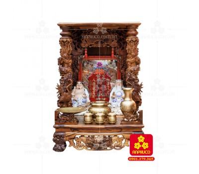 Bàn thờ Thần tài bằng gỗ Cẩm Lai đẹp(Model T.1CL.TOD.6088.005)