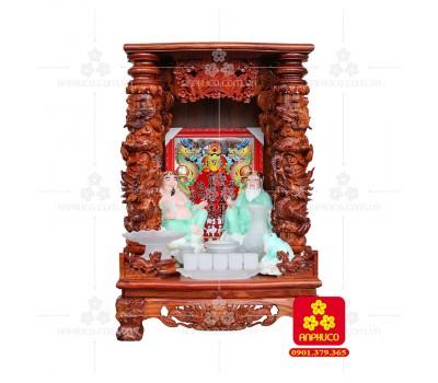 Bàn thờ Thần tài bằng gỗ Cẩm Lai đẹp(Model T.1CL.TOD.6088.009)