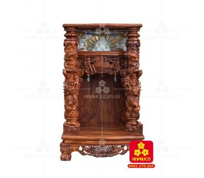 Bàn thờ Thần tài bằng gỗ Cẩm Lai đẹp(Model T.1CL.TOD.6098.001)