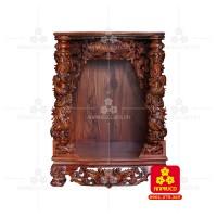 Bàn thờ Thần tài bằng gỗ Cẩm Lai đẹp(Model T.1CL.TOD.81108.001)