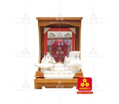 Bàn thờ ông Địa bằng gỗ gỏ đỏ(Model: T.1GD.TOD.4262.006)