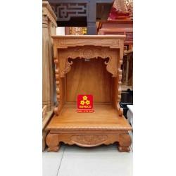Bàn thờ ông Địa bằng gỗ gỏ đỏ(Model: T-1GD.TOD.4868.004)