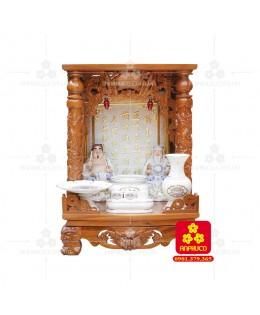 Bàn thờ ông Địa bằng gỗ gỏ đỏ(Model: T.1GD.TOD.4868.00