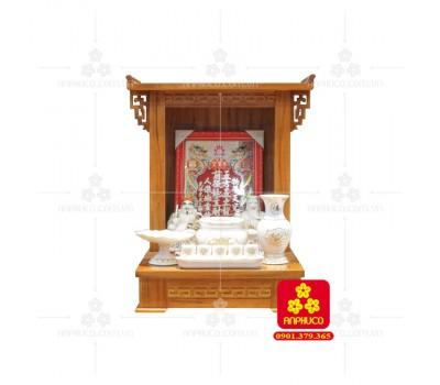 Bàn thờ ông Địa bằng gỗ gỏ đỏ(Model: T-1GD.TOD.4868.008)