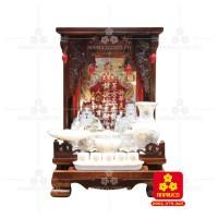 Bàn thờ ông Địa gỗ Muồng(Model: T.1M.TOD.4262.001)