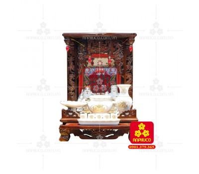 Bàn thờ ông Địa gỗ Muồng(Model: T.1M.TOD.4868.004)