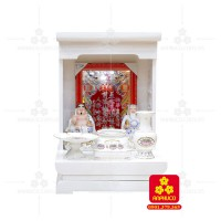 Bàn thờ  Ông Địa gỗ sồi(Model: T-1S.TOD.4868.005)