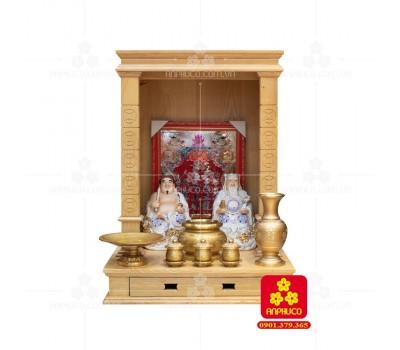 Bàn thờ  Ông Địa gỗ sồi(Model: T.1S.TOD.5681.001)