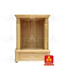 Bàn thờ  Ông Địa gỗ sồi(Model: T.1S.TOD.6081.002)