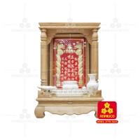 Bàn thờ  Ông Địa gỗ sồi(Model: T.1S.TOD.6081.004)